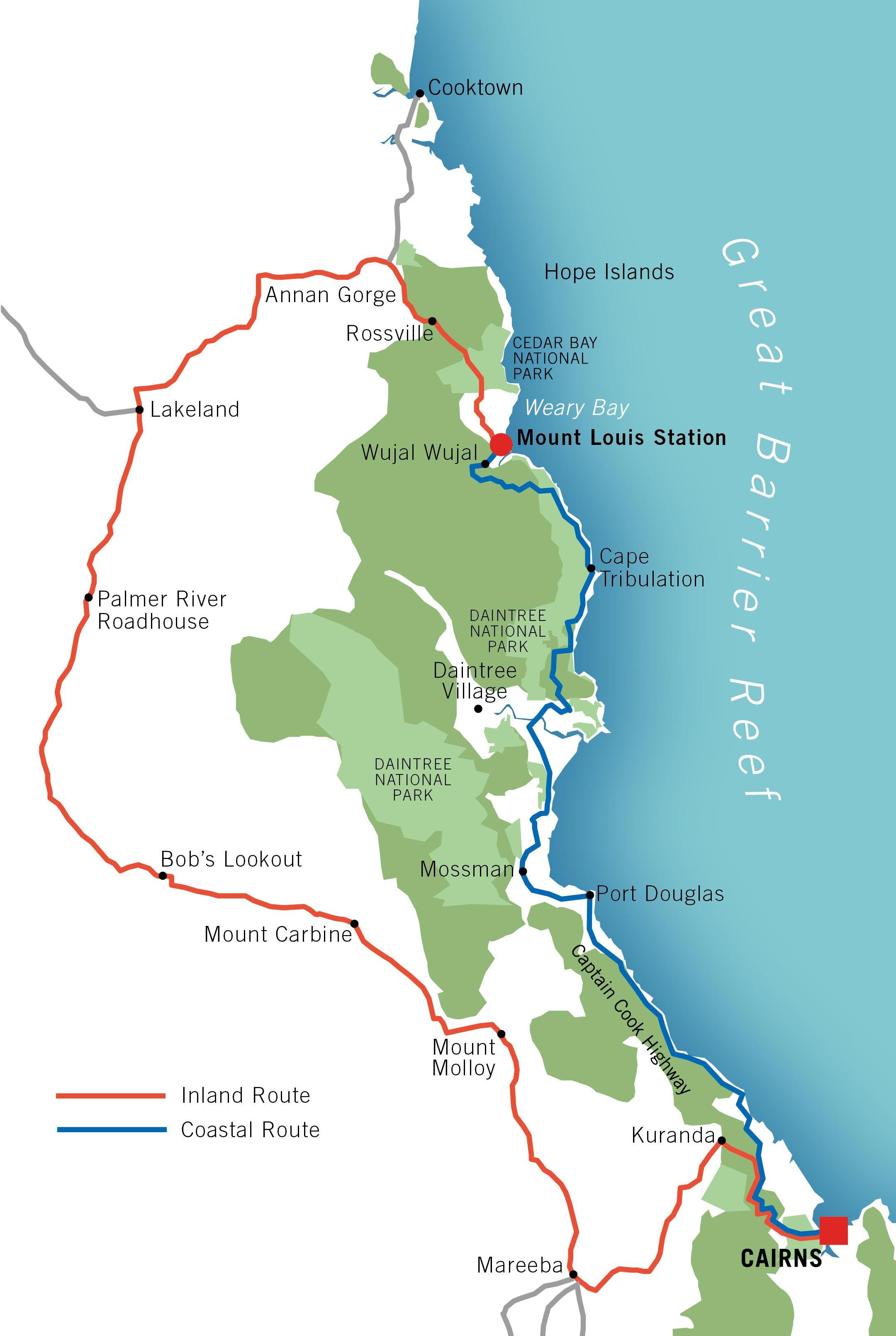 cape to cape track map pdf
